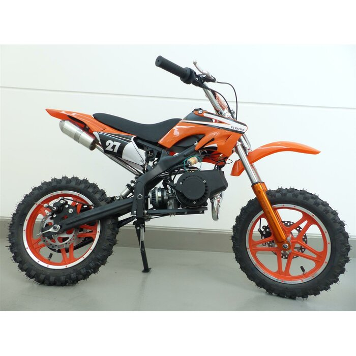 RV-Racing Pocketbike Dirtbike Pocket Cross Bike Kindercross Crossbike Orange
