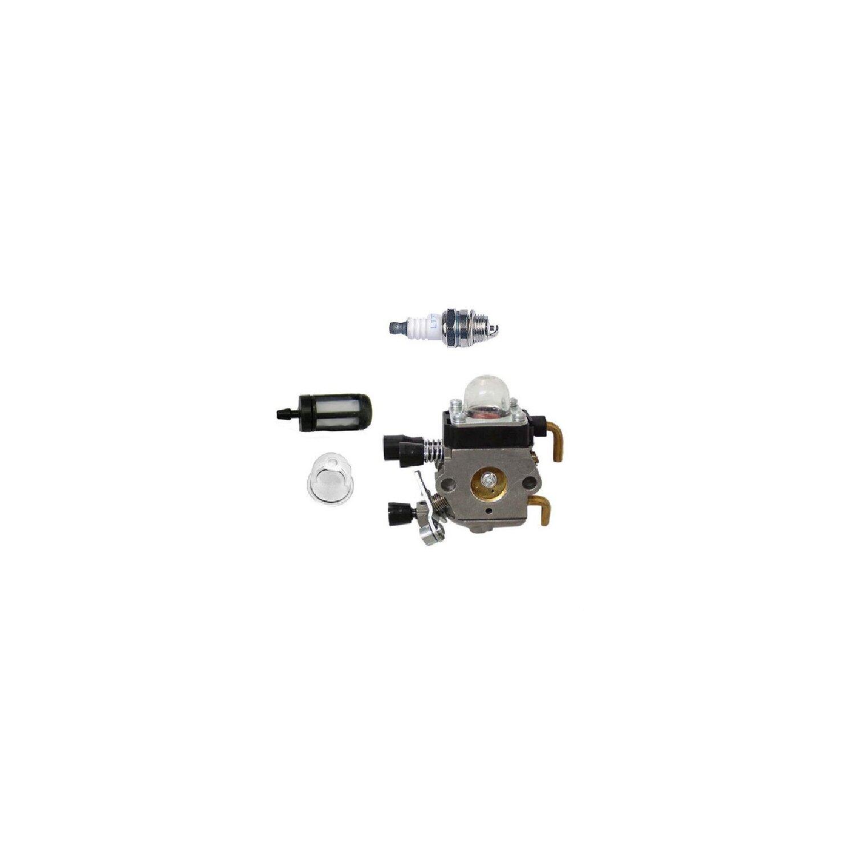 Luftfilter Zündkerze Benzinschlauch für Stihl FS45 FS55 FS38 FS46 HL45 Vergase
