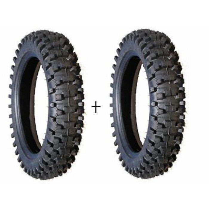 2 x pocketbike pit bike dirt bike schlauch tube 3. Black Bedroom Furniture Sets. Home Design Ideas