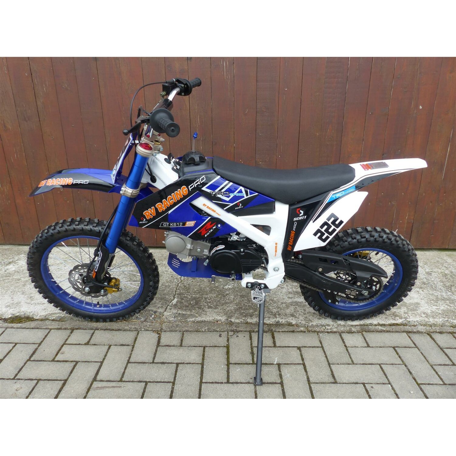 125ccm dirtbike pitbike cross 125cc 4takt 4 gang 17 14. Black Bedroom Furniture Sets. Home Design Ideas