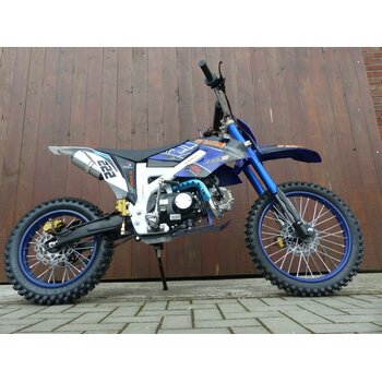 125ccm Dirtbike Pitbike Cross 125cc 4Takt 4 Gang 17/14...