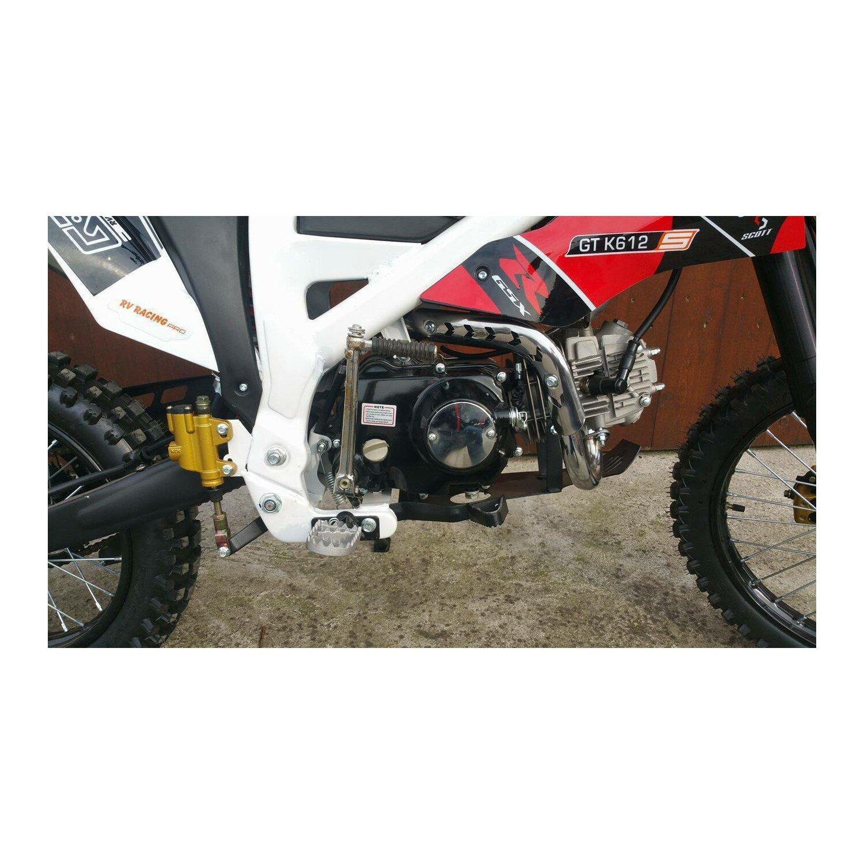125ccm dirtbike pitbike kxd 612 4takt 4 gang 17 14 enduro. Black Bedroom Furniture Sets. Home Design Ideas